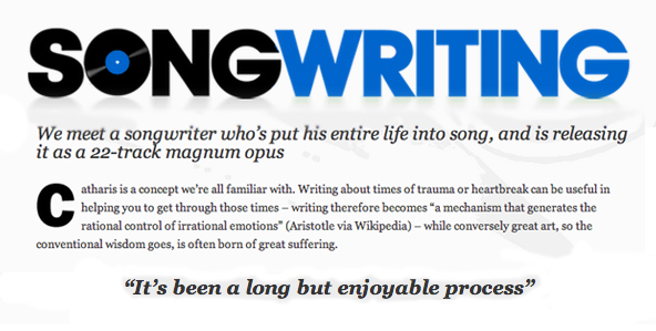 David Bronson Songwriting Magazine Interview