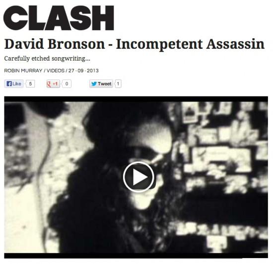 CLASH premieres David Bronson's