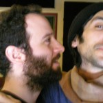 David Bronson & Jordan Shapiro during the recording of The Long Lost Story
