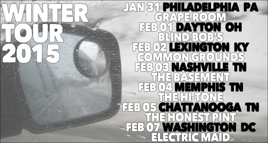 Winter Tour Dates 2015 outline